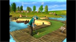 In game image of 3D Ultra Minigolf on the Microsoft Xbox Live Arcade.