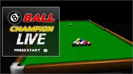 In game image of 8 Ball Champion LIVE on the Microsoft Xbox Live Arcade.