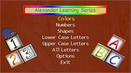 In game image of Alexander Learning Series 360 on the Microsoft Xbox Live Arcade.