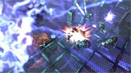 In game image of Alien Breed 2: Assault on the Microsoft Xbox Live Arcade.