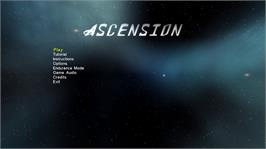 In game image of Ascension on the Microsoft Xbox Live Arcade.