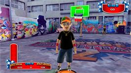 In game image of Avatar Street Basketball 2 on the Microsoft Xbox Live Arcade.