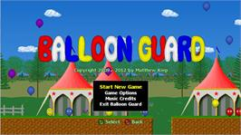 In game image of Balloon Guard on the Microsoft Xbox Live Arcade.