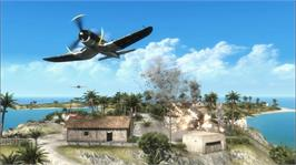 In game image of Battlefield 1943 on the Microsoft Xbox Live Arcade.