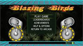 In game image of Blazing Birds on the Microsoft Xbox Live Arcade.