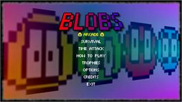 In game image of Blobs on the Microsoft Xbox Live Arcade.