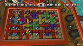In game image of Bomberman Battlefest on the Microsoft Xbox Live Arcade.