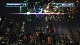 In game image of Boom Boom Rocket on the Microsoft Xbox Live Arcade.