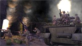 In game image of Call of Duty® Classic on the Microsoft Xbox Live Arcade.