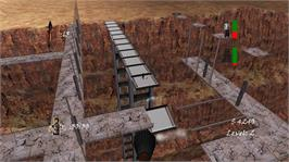 In game image of Canyon Viaduct on the Microsoft Xbox Live Arcade.