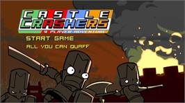 In game image of Castle Crashers on the Microsoft Xbox Live Arcade.
