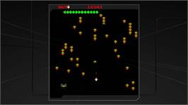 In game image of Centipede & Millipede on the Microsoft Xbox Live Arcade.