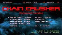 In game image of Chain Crusher on the Microsoft Xbox Live Arcade.