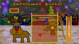 In game image of Christmas Rocks! on the Microsoft Xbox Live Arcade.