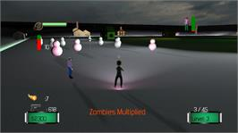 In game image of City Zombified on the Microsoft Xbox Live Arcade.