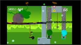 In game image of Clyde Hopper's Trajectory on the Microsoft Xbox Live Arcade.