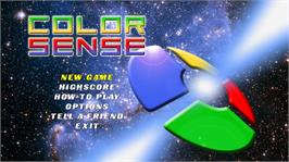 In game image of Color Sense on the Microsoft Xbox Live Arcade.