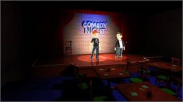 In game image of Comedy Night on the Microsoft Xbox Live Arcade.