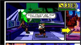 In game image of Comix Zone on the Microsoft Xbox Live Arcade.
