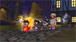 In game image of Costume Quest on the Microsoft Xbox Live Arcade.