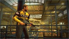 In game image of DEAD RISING 2: CASE WEST on the Microsoft Xbox Live Arcade.