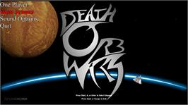 In game image of Death Orb Wars on the Microsoft Xbox Live Arcade.