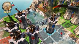 In game image of Defenders of Ardania on the Microsoft Xbox Live Arcade.