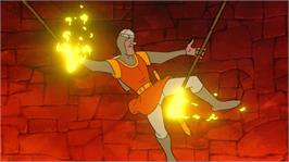 In game image of Dragon's Lair on the Microsoft Xbox Live Arcade.