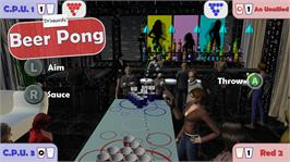 In game image of Drinkards Beer Pong on the Microsoft Xbox Live Arcade.