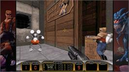 In game image of Duke Nukem 3D on the Microsoft Xbox Live Arcade.