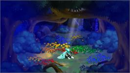 In game image of Dust: An Elysian Tail on the Microsoft Xbox Live Arcade.