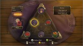 In game image of Fable® II Pub Games on the Microsoft Xbox Live Arcade.