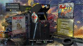 In game image of Final Fight: DblImpact on the Microsoft Xbox Live Arcade.