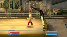 In game image of Fire Pro Wrestling on the Microsoft Xbox Live Arcade.