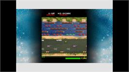 In game image of Frogger on the Microsoft Xbox Live Arcade.