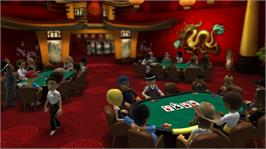 In game image of Full House Poker on the Microsoft Xbox Live Arcade.