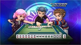 In game image of FunTown Mahjong on the Microsoft Xbox Live Arcade.