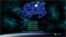 In game image of Galaga Legions on the Microsoft Xbox Live Arcade.