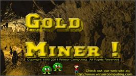 In game image of Gold Miner on the Microsoft Xbox Live Arcade.