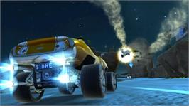In game image of GripShift on the Microsoft Xbox Live Arcade.