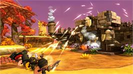 In game image of Happy Wars on the Microsoft Xbox Live Arcade.