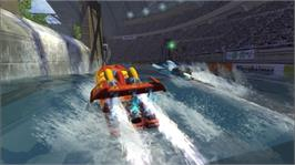 In game image of Hydro Thunder on the Microsoft Xbox Live Arcade.