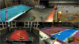 In game image of Inferno Pool on the Microsoft Xbox Live Arcade.
