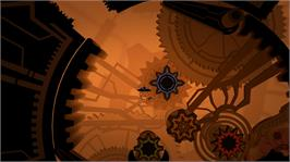 In game image of Insanely Twisted Shadow Planet on the Microsoft Xbox Live Arcade.