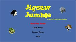 In game image of Jigsaw Jumble on the Microsoft Xbox Live Arcade.