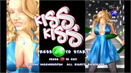 In game image of Kiss Kiss on the Microsoft Xbox Live Arcade.