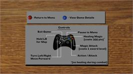 In game image of LCD Dungeon System on the Microsoft Xbox Live Arcade.