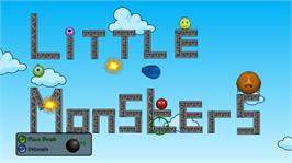 In game image of Little Monsters on the Microsoft Xbox Live Arcade.