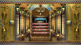 In game image of Luxor 2 on the Microsoft Xbox Live Arcade.