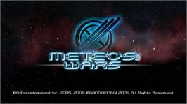 In game image of METEOS WARS on the Microsoft Xbox Live Arcade.